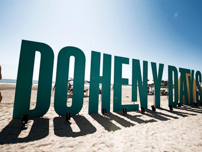 Doheny Days Logo Signage